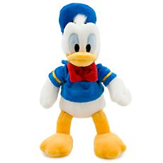 $9.95, buy one get one for $1.00 Donald Duck Plush - Mini Bean Bag - 9 1/2''
