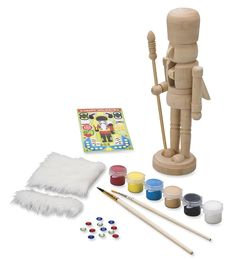 Paint-Your-Own Nutcracker Kit | Craft Kits