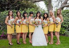 Top 7 Frühjahr 2014 Brautjungfer Kleid Trends