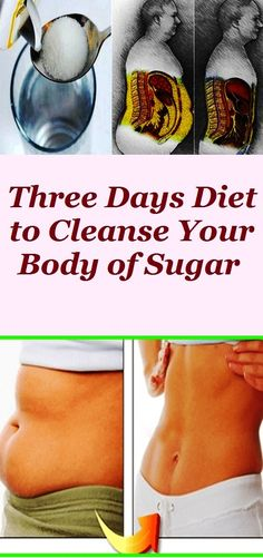 Even when consuming too much sugar, the body uses only what it needs to boost the energy, while the rest is stored as fat. Here's how to calm your sweet cravings, lose weight and improve your health in 3 days.