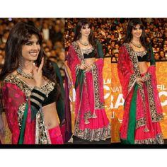 @ 181 Priyanka Chopra Marrakech (Morocco) Lehenga Choli with FREE shipping worldwide offer.