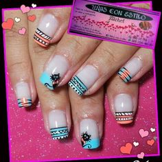 En honor a una nena que trabaja super Cat Nail Art, Cat Nails, Hello Nails, Easter Nails, Funky Nails, Cute Nail Designs, Nail Polish Colors, Nail Tips, Nails Inspiration