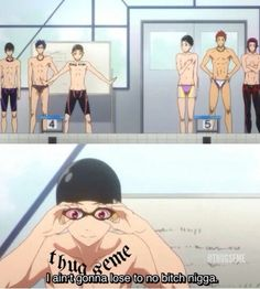 Free! Eternal Summer xD  Octopimp. please excuse the swearing, though this is bloody hilarious X'D