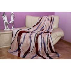 Béžová deka s farebným vzorom - domtextilu. Blanket, Tv, Home, Television Set, Ad Home, Blankets, Homes, Cover, Comforters