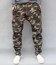 Camuflaje Jeans para hombre 2015 nueva moda Harem Camo Jeans envío  gratis(China (Mainland 56ea968d785