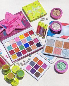 Jeffree Star Jawbreaker collection!! Jeffree Star Eyeshadow, Jeffree Star Palette, Makeup Goals, Beauty Makeup, Eye Makeup, Skin Frost, Makeup Pallets, Velour Liquid Lipstick, Makeup News