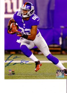 RUEBEN RANDLE NY GIANTS AUTOGRAPH 8x10 PHOTO FILE SIGNED NEW YORK NFL  FOOTBALL 955db5685