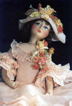 Antique Boudoir Doll