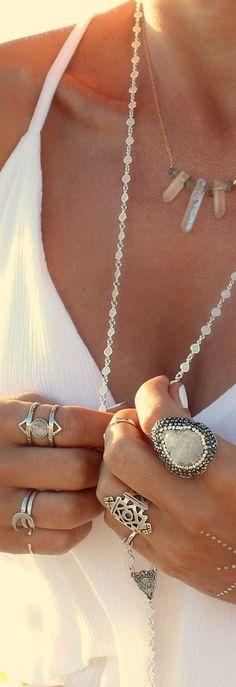 Boho Beautiful Jewelry... I've always been obsessed!