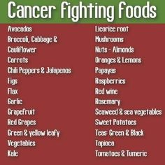cancer fighting foods #plantbased #detox