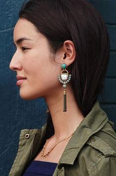 Boucles d'oreilles à shopper sur www.stelladot.fr/sites/nadegeraguet
