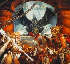 Dragonlance - Captured Clyde Caldwell