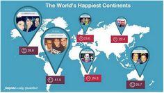 ONE: Los países más felices de acuerdo a Instagram