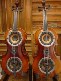 小提琴造型音箱美的让人不舍,献给爱乐又爱琴的人