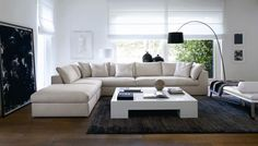 Add Space Where You Need It The Most With L-shaped Sofas