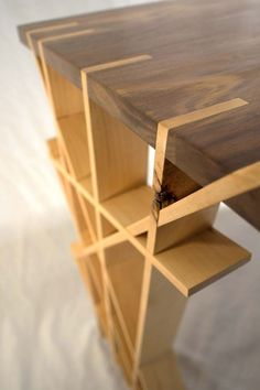 Sam maloof inspired contempory walnut bar stool built by for 6 furniture legs canada