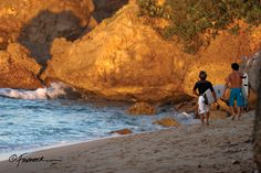 """Surfer's Beach in Aguadilla, Puerto Rico. #Aguadilla is a @Jauntaroo #ChiefWorldExplorer destination.  Help Send me to #PuertoRico and """"Like"""" my application video for Jauntaroo's Chief World Explorer http://www.bestjobaroundtheworld.com/submissions/view/1280"""