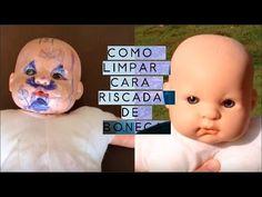 Técnica simples é capaz de limpar as bonecas riscadas; aprenda! Remover Tinta, Ag Doll House, Barbie, How Do You Clean, Old Dolls, Doll Repaint, Reborn Dolls, Doll Face, Vintage Dolls