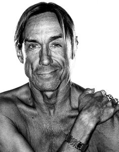 Iggy Pop (b. 1947), American singer-songwriter, musician and actor // Photo © Rainer Hosch