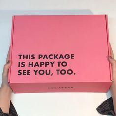 packaging - My Favorite Ecommerce Packaging, Brand Packaging, Packaging Ideas, Design Packaging, Pretty Packaging, Label Design, Box Design, Branding Design, Package Design Box