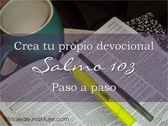 Hoy te propongo un ejercicio de análisis con el Salmo 103. De esta forma, vas a poder ser tú misma la que armes tu propio de...