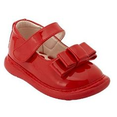 Wee Squeak Baby Toddler Little Girls Red Patent Bow Dress Shoes 3-12 (Apparel) http://pinterest.com-see.us/pin.php?p=B003Z3MSXQ