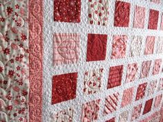 Simply CANDY KISSES 54x60 Valentine quilt LAST by pinetreelodge, $156.00