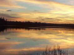 Rufus Lake, Ontario (an hour and a half away from Kapuskasing) Hour And A Half, Geo, Ontario, Roots, Canada, Celestial, Canning, Sunset, Outdoor