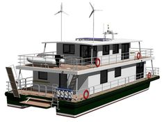 With regards to Recreational Craft Directive 94/25/EC the houseboat design category is C Inshore, which means that houseboat has designed for voyages in coastal waters, large bays, estuaries, lakes…