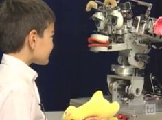 Robots do tricky tasks, but they lack social skills. Or do they? Find out with this video! (Grades 3-12) #NGSS #STEM