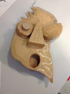 Cardboard constructions - work in progress.