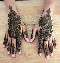 Shahida's bridal henna 2011 © NJ's Unique Henna Art   Flickr - Photo Sharing!