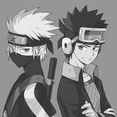 Kakashi e Obito #NARUTO