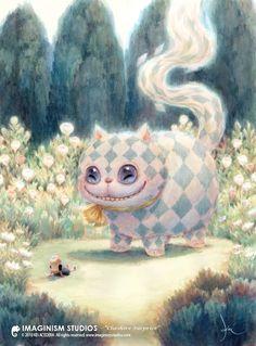 Alice in Wonderland. cat