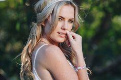 Gold Sapphire Seas | Narrow Hair Tie Bracelet