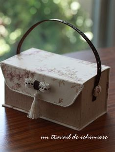 Durée de la main de ichimière: cartonnage ★ boîte à bijoux