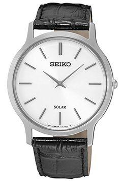 セイコー SEIKO ソーラー クオーツ メンズ 腕時計 SUP873P1 ホワイト [並行輸入品]