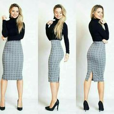 Womens Fashion For Work Professional Attire Office Outfits Ideas Classy Work Outfits, Office Outfits Women, Casual Skirt Outfits, Business Casual Outfits, Business Attire, Mode Outfits, Chic Outfits, Fashion Outfits, Summer Outfits