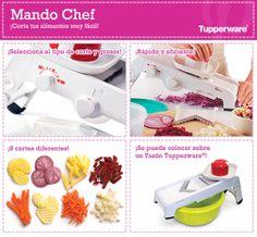 El Mando Chef es uno de los productos más innovadores de Tupperware. ¡Te sirve para todo!