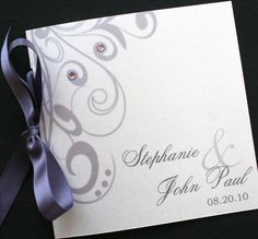 Flourishing Elegance Square Wedding Program by atouchofsunshine1, $2.50