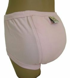 """Baby Pants Adult - Almost a Big Kid Training Pants - Small Pink by Baby Pants. $27.95. No moisture barrier, plastic panties can be worn over for absolute protection.. Full range of sizes (Small - 4X large) colors and prints available and in stock at our store.. Premium quality extremely soft 100% organic cotton.. Big Kid Training Pant, also available in """"My First Training Pants"""" with more padding.. """"Almost A Big Kid"""" padded to keep our little secret. Twice the paddin..."""
