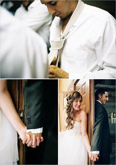 building wedding anticipation #weddingideas #brideandgroom #weddingchicks http://www.weddingchicks.com/2014/02/10/cant-rush-love-wedding/