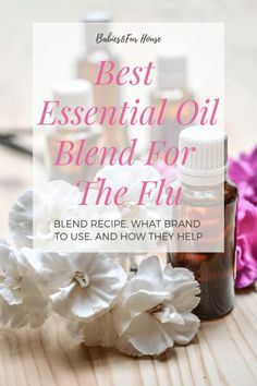 Essential Oil Blend for the Flu - Babies & Fur House - Natural Remedies - Baby Health Stuffy Nose Essential Oils, Essential Oils For Congestion, Essential Oils For Kids, Essential Oil Blends, Baby Health, Kids Health, Heart Health, Health Tips, Cedarwood Oil