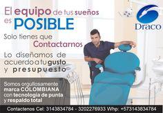 MARCA ORGULLOSAMENTE COLOMBIANA - Diseñelas a su Gusto, nos Acomodamos a su Presupuesto, Siempre Innovando para su Servicio Somos Fabricantes, Personalizamos su Unidad, Armela A su gusto, variedad de Colores, Exportamos www.insumosdentales.com Cel: 3143834784-3202276933 Whatsapp: +57 3143834784 Bogota - Colombia #unidadesdraco #unidadesDraco #draco #Draco #somosfabricantesdeunidadesodontologicas #unidadesodontologicas #esterilizacion #autoclaves #fgm #ultradent