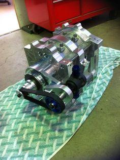 Billet 13b rotary Drag car engine 1400HP 13B