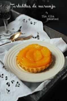 Tía Alia Recetas: Tartaletas de naranja