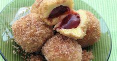#galustecuprune #gomboti #gustdivin Just Desserts, Dessert Recipes, Romanian Food, Cake Cookies, Nutella, Feta, Deserts, Good Food, Sweets