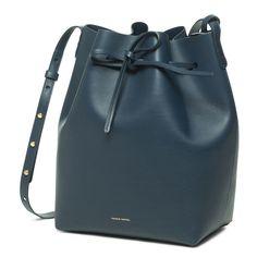 Rosa/Rosa - Bucket Bag Calf Coated - Mansur Gavriel