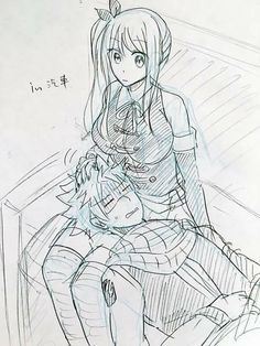 Lucy comforting Natsu in his motion sickness is my absolute favorite ❤️