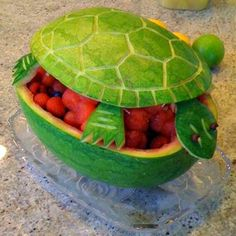 This is so neat!  Perfect for a turtle themed baby shower or turtle kids party!